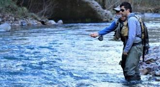 Stage d'initiation à la pêche à la mouche dans le Pays-Basque
