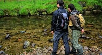 Stage de perfectionnement à la pêche à la mouche dans le Pays-Basque