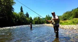 Stage de pêche père / fils en Ariège