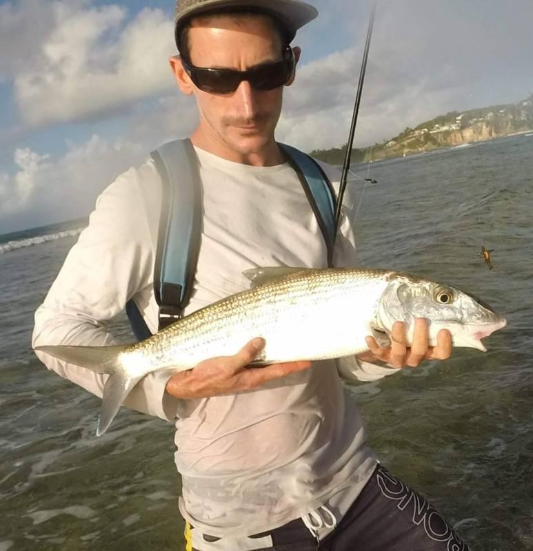 Pêche des flats de la Guadeloupe