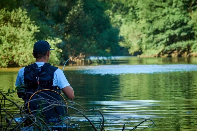 Pêche à la truite en baitcasting en Haute-Marne