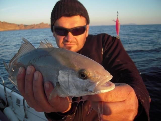 Journée de pêche en Méditerranée en bateau