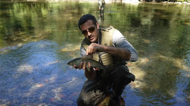 Journée de pêche au tenkara en Lozère