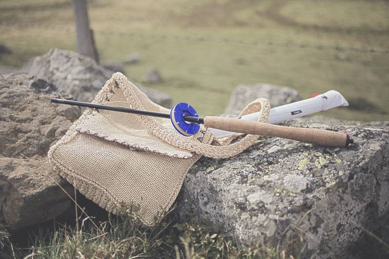 Journée de pêche au tenkara sur l'Aubrac