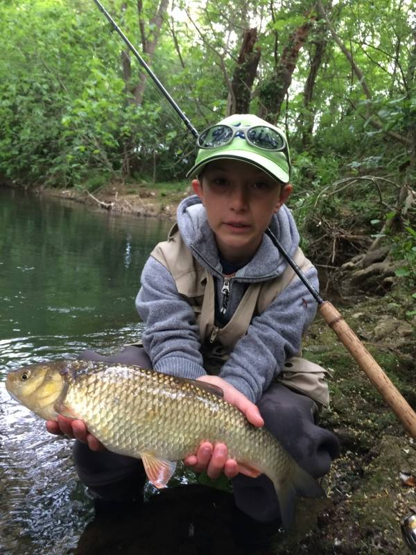 Trout fishing in the Var rivers