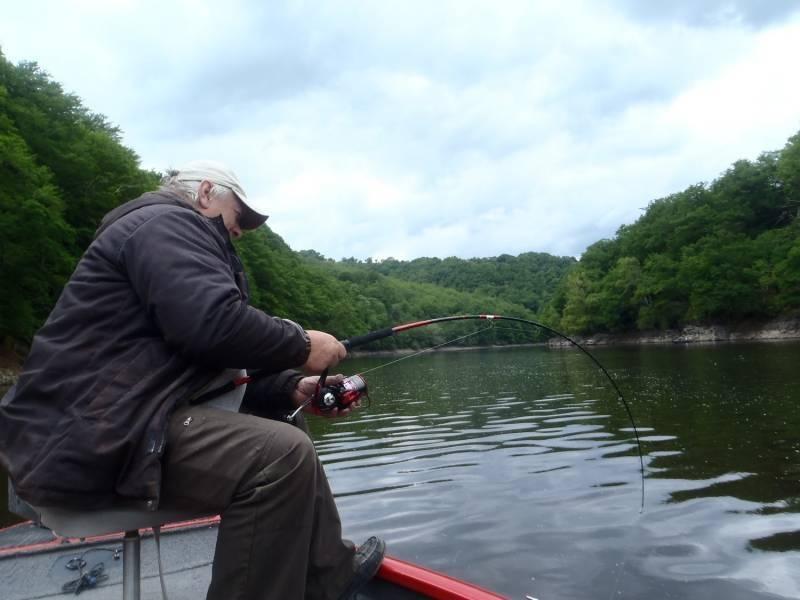 Pêche du silure en Aveyron