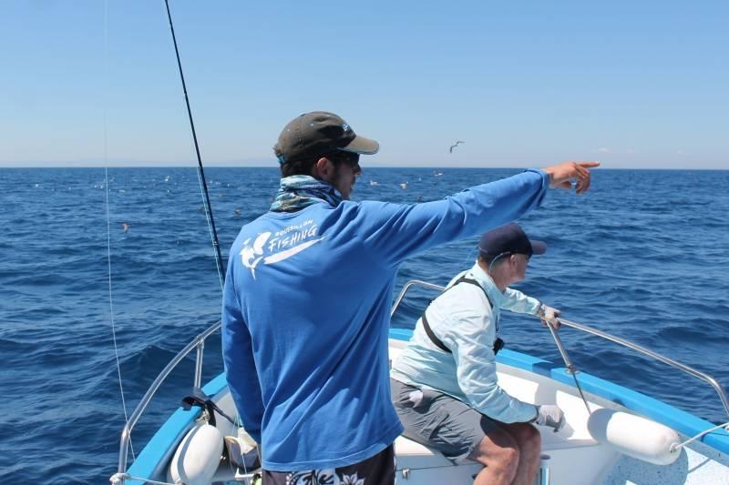 Initiation pêche en mer Méditerranée