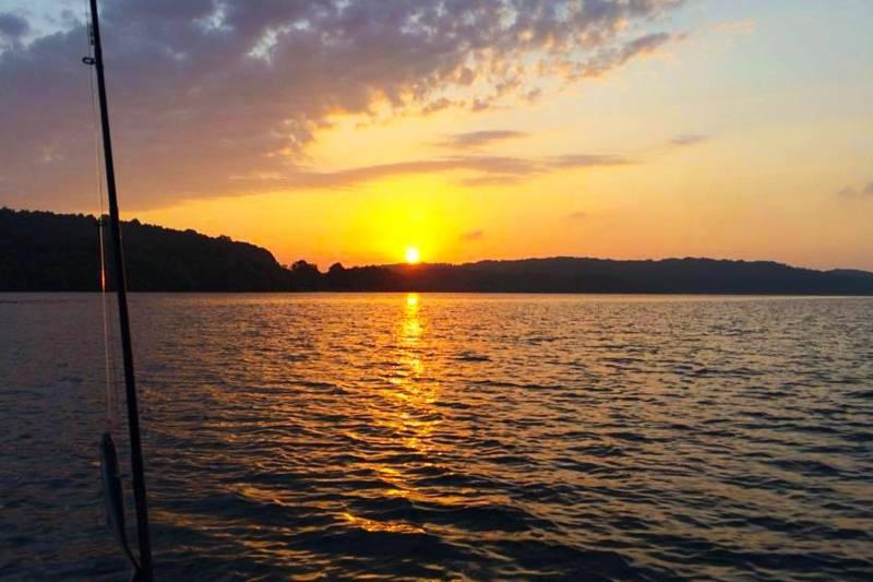 Pêche des carnassiers dans les lacs de Langres