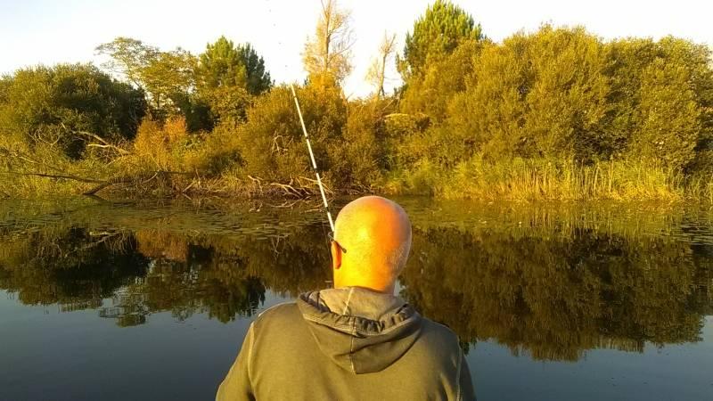 Pêche des carnassiers sur le lac de Carcans/Hourtin