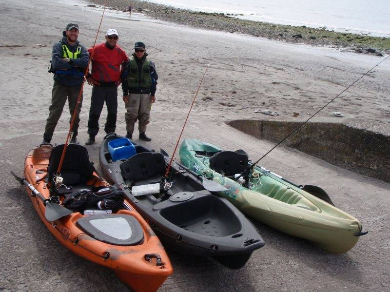 Pêche du bar et du lieu en kayak ou du bord