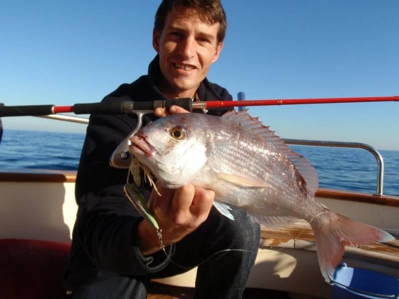 Pêche en light jigging sur le banc du Magaud