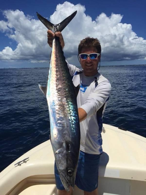 Pêche en verticale en Guadeloupe