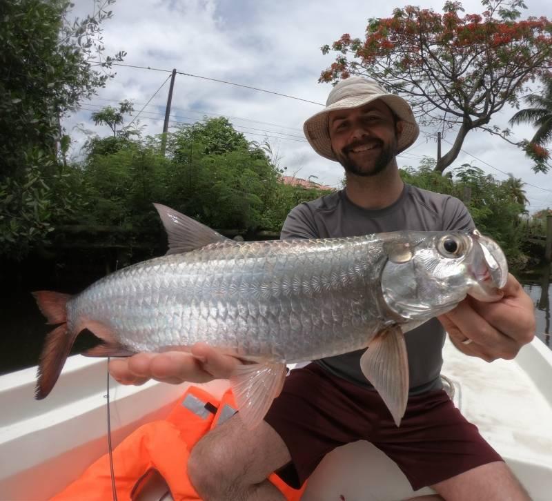 Pêche côtière en Guadeloupe aux leurres et à la mouche