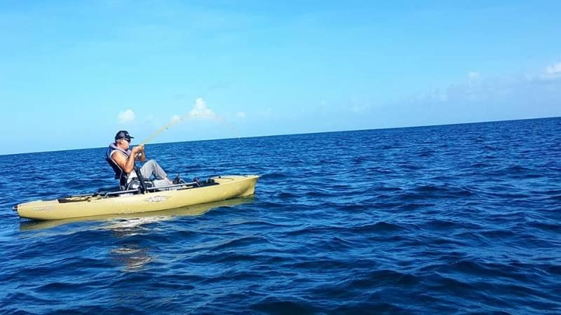 Pêche en kayak en Guadeloupe