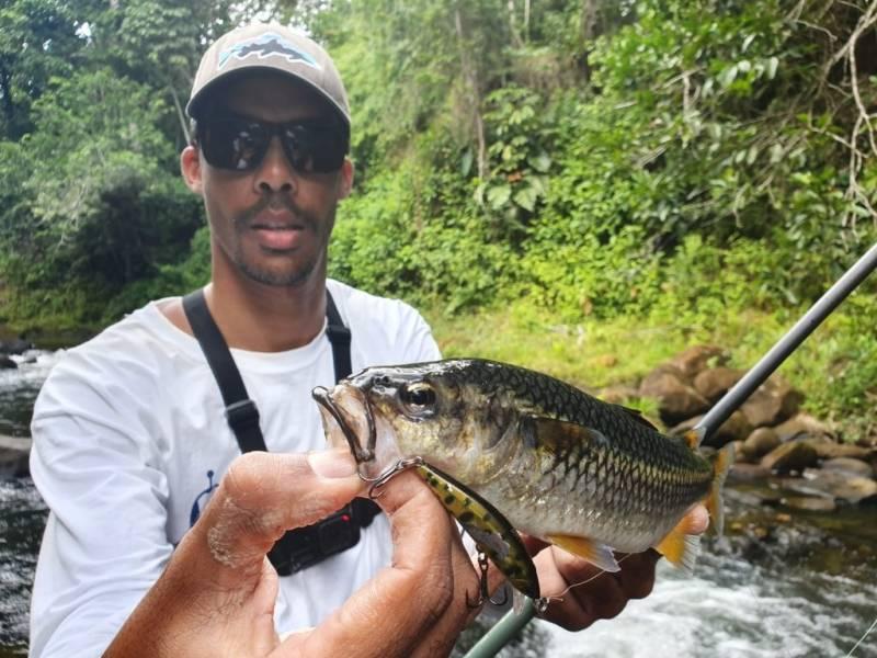 Pêche en rivière en Guadeloupe