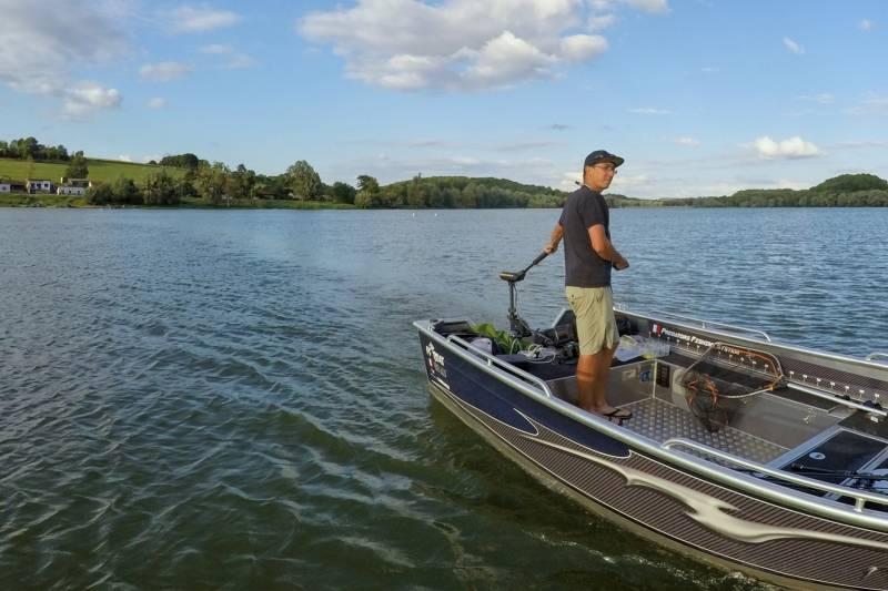 Pêche des carnassiers dans les lacs de Haute-Marne