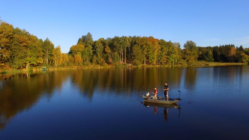 Week-end de pêche au coeur des combrailles