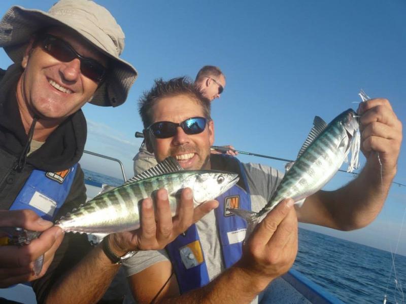 Journée pêche en mer Méditerranée