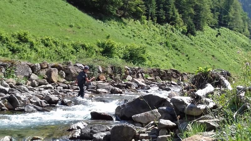 Stage de pêche à la mouche en nymphe dans les Pyrénées