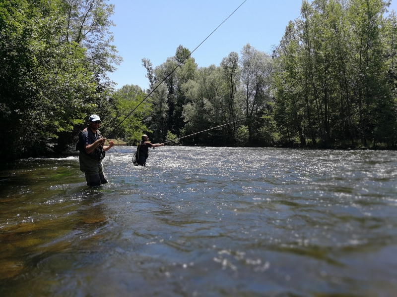 Initiation de pêche à la truite en Ariège
