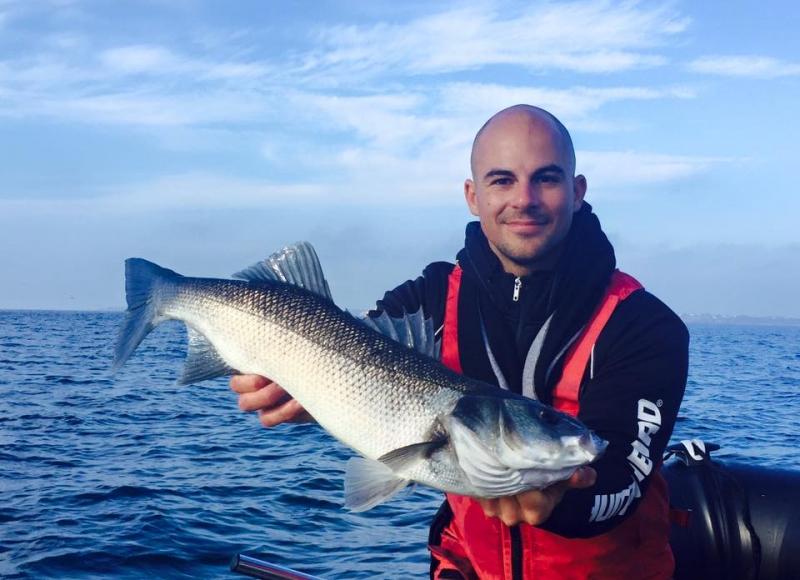 Pêche du bar dans le Morbihan