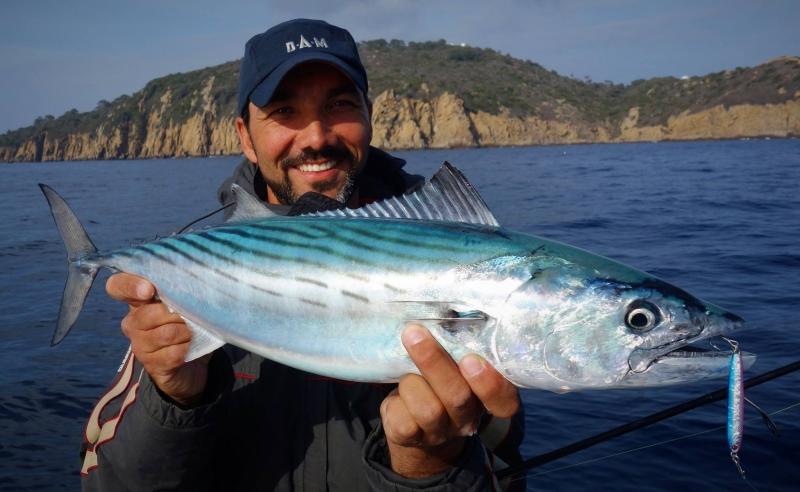 Stage de pêche en mer aux leurres et sur chasses
