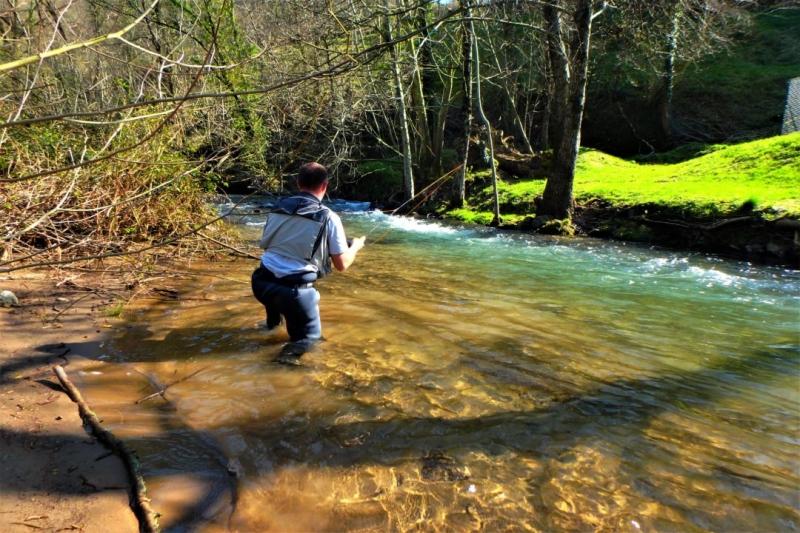 Stage de pêche en nymphe dans le Pays basque