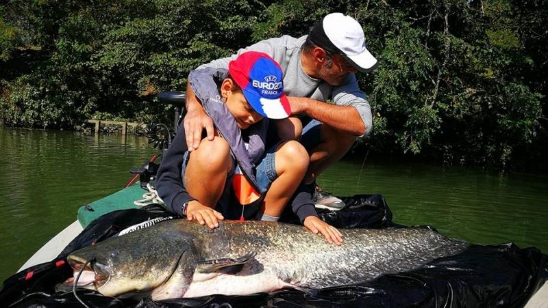 Découverte de la pêche au silure en plein cœur de Toulouse