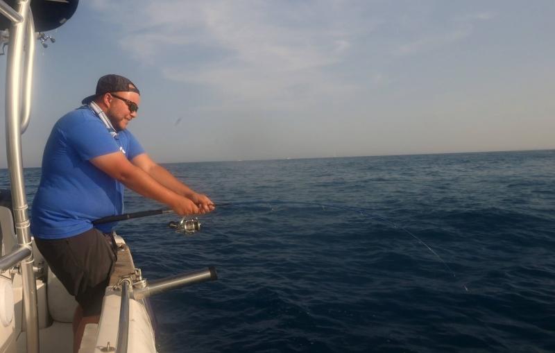 Stage de pêche en mer entre Cannes et Antibes