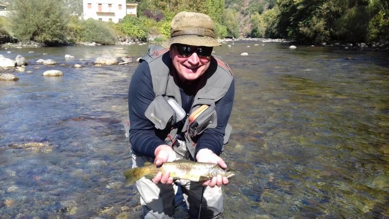 Initiation à la pêche à la mouche dans les Pyrénées