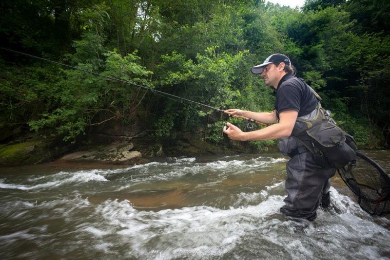 Stage de pêche à la truite au toc dans les Pyrénées-Atlantiques